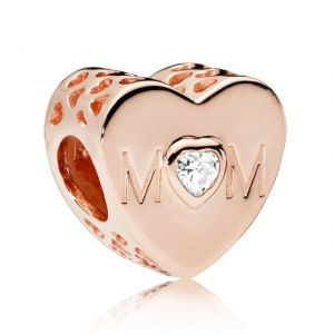 CHARMS SREBRO 925 MAMA MOM ROSE 24H