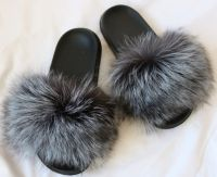 SLIPPERS SILVER FOX